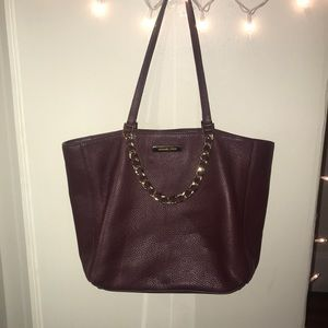 Michael Kors Maroon Purse
